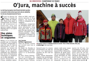 Ski orientation à Plaine Joux - jour 1