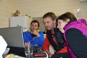 Trois jours de Pâques 2015 en Alsace : analyse de trace GPS, à froid et au chaud