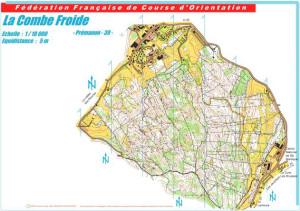 Cartes de course d'orientation Ojura : Prémanon La Combe Froide