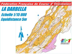 Cartes de course d'orientation Ojura : Prémanon La Darbella