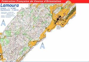 Cartes de course d'orientation Ojura : Lamoura