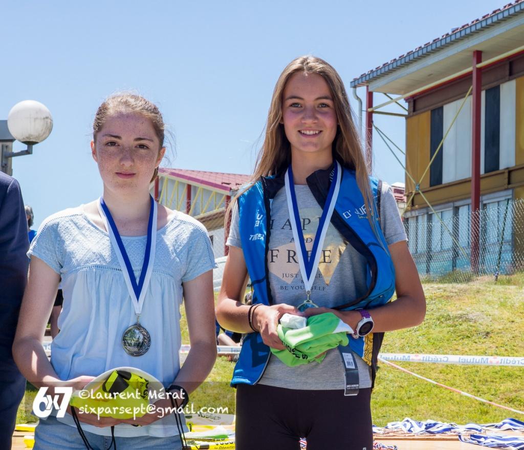 Nationale nord-est à Gérardmer, 18 juin 2017 - podium Dames 14