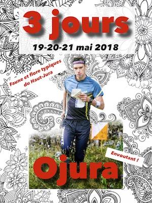 invivtation des 3 jours Ojura - 19,20 et 21 mai 2018