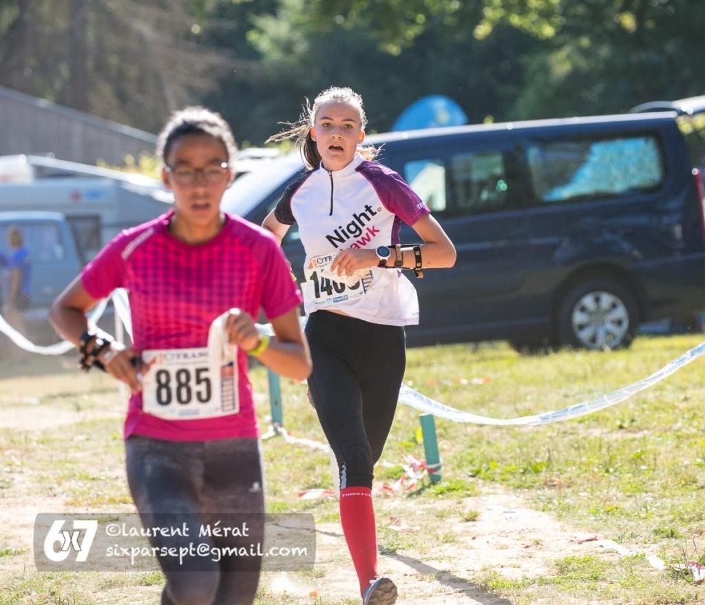 Les O-France 2018 vu du Jura : Alina Niggli, 2ème en Dames 16